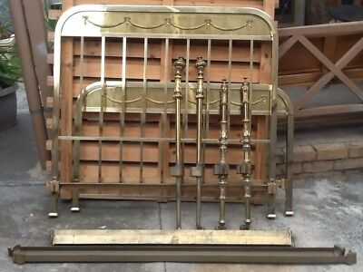 RW Winfield Brass Bed + another brass bed