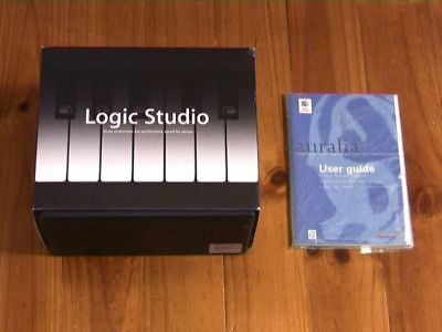 LOGIC STUDIO (boxed) for INTEL+PPC processors + AURALIA ear training software