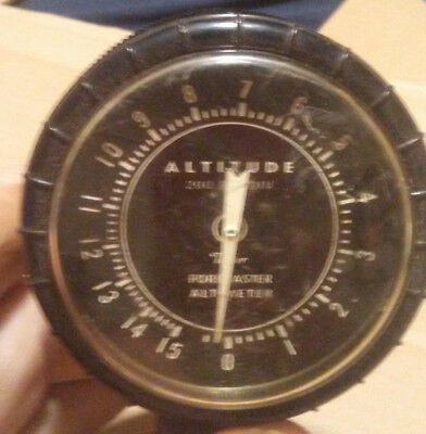 1963 Taylor Forecaster & Altimeter #6203-F FOR AUTOMOBILE AND / OR BOAT