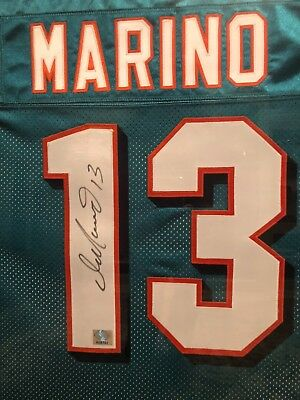 reputable site 56b65 38b16 FRAMED DAN MARINO AUTOGRAPHED JERSEY MIAMI DOLPHINS! with COA