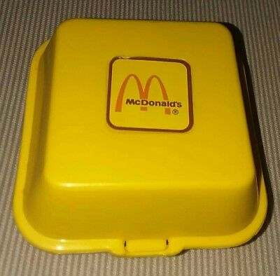 Vintage 1988 McDonald's Chicken McNugget Nugget Buddies Play Food Set