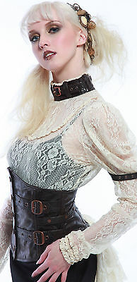 Lip Service Step in Time Ivory Lace Steampunk Victorian Anime Cosplay Blouse Top