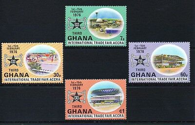 Ghana 1976 International Trade Fair MNH set S.G. 764-767