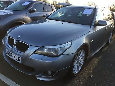 """2005 Bmw 530D Sport Touring Auto - 9 Stamps, Leather, Nav, 18"""" Wheels, Very Nice"""