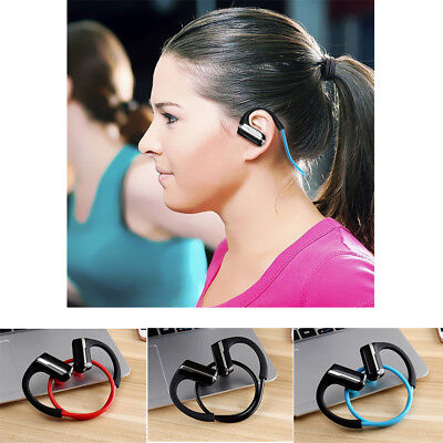 Sweatproof Wireless Bluetooth Stereo Headset Headphones Sport Earphone Earbuds G