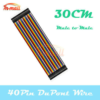 40PIN Dupont Male to Male 30cm Wire Jumper Cables for Arduino