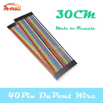 40PIN Dupont Male to Female 30cm Wire Jumper Cables for Arduino