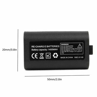 FOR Microsoft XBOX ONE Play and Charge Kit Xbox One Rechargable DI