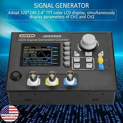 JDS2800 AC100-240V Dual-channel DDS Function Arbitrary Waveform Signal Generator