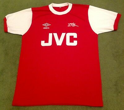 Retro Arsenal 80s Home JVC Shirt ALL SIZES/SLEEVES