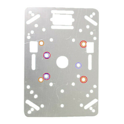Tracking Motor Smart Robot Car Chassis (Acrylic Plate) Kit 2WD Ultrasonic