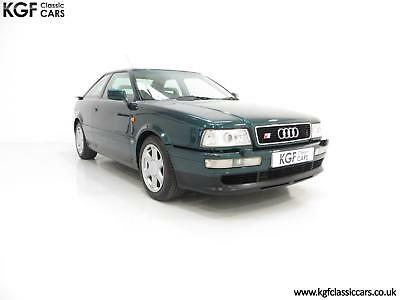 A Fastidiously Maintained Audi Coupe S2 in Superb Unmolested Condition