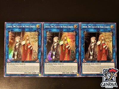 YuGiOh! Isolde, Two Tales of the Noble Knights SOFU-ENSE3 Super Rare Limited NM