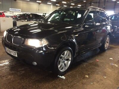 """58 Bmw X3 2.0D M-Sport Step Auto - 8 Stamps, 1F/owner, Nav, Leather, 18"""" Alloys"""