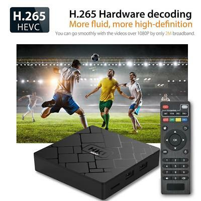 HK1mini Android8.1 2GB+16GB Smart TV Box Quad-Core 4K WiFi H.265 3D Media Player