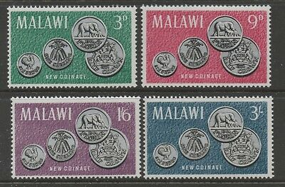 Malawi - New Coinage - MNH Set 4