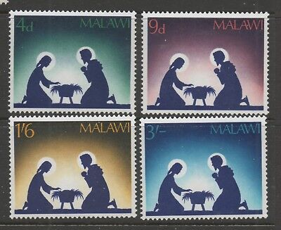 Malawi - Christmas 1967 - MNH Set 4