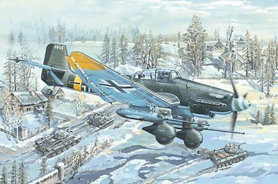 Trumpeter Model In 1/24 ! Junkers Ju-87 G-2  Top Neuheit !