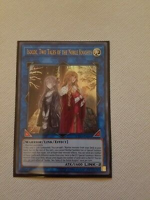 Isolde, Two Tales of the Noble Knights - EXFO-EN094 - Ultra Rare - Unlimited Edi