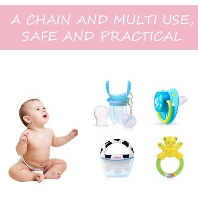 Safety Food Grade Silicone Baby Pacifier Infant Toddler Baby Soother Nipple MU
