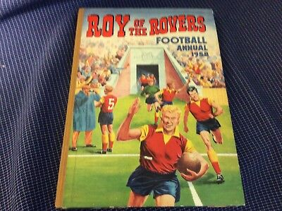 Vintage Tiger Book Roy of the Rovers Football Annual 1958