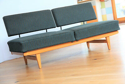 50er STELLA KNOLL ANTIMOTT Daybed   Mid Century Sofa Canape