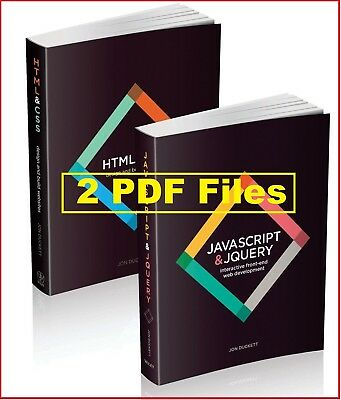 [PDF] HTML & CSS and JAVASCRIPT & JQUERY - 2 Books Set