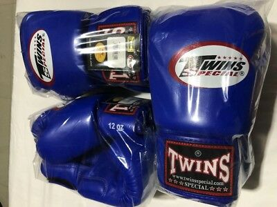 TWINS MUAY THAI BOXING GLOVES 12oz, Brand new, genuine leather made in Thailand