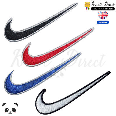 Nike sportswear Embroidered Iron On /Sew On Patch Badge For Clothes Bags etc