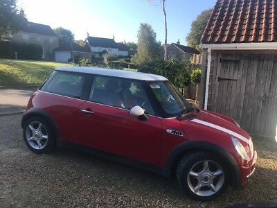 Red Mini 1.6 02 plate. Lovely drive