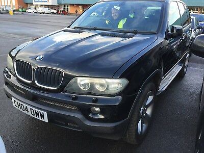 04 Bmw X5 3.0 D Sport Auto - 10 Stamps, Nav, Leather, Rear Screens, Lovely Car!!