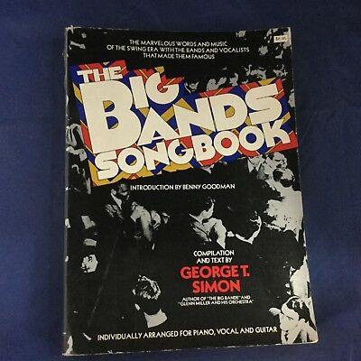 The Big Bands Song Book - Rare Vintage Book 1975