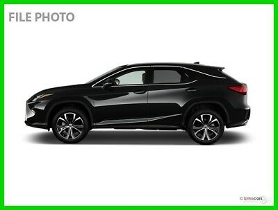 2016 Lexus RX 4DR FWD 2016 4DR FWD Used Certified 3.5L V6 24V Automatic FWD SUV Premium Moonroof