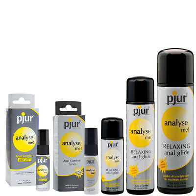 Pjur Analyse Me Lubricant | Anal Relaxing Silicone  Sex Lube/Lubricant