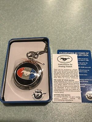 Ford Mustang Trump Pocketwatch