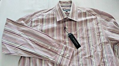 989227cefe RACING GREEN LONDON LONG SLEEVED STRIPED SHIRT MENS SIZE M (NEW) rrp £40