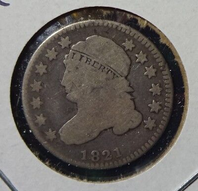 1821 Small Date Capped Bust Dime