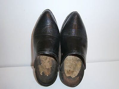 1800s WOODEN SHOES