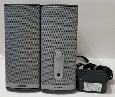 Bose Companion 2 Series II Multimedia Computer Speakers / Bose Sound