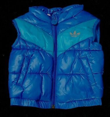 Adidas Boy's Puffy Vest. Size 000.