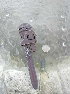 "Vintage Genuine Stillson Walworth Co Heavy Duty Pipe Monkey Wrench 7"" Inch"