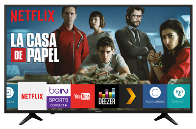 "Hisense Smart TV 43"" / 109 cm Ultra HD 4K Wifi - H43A6140"