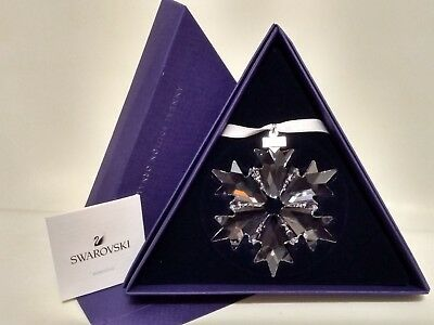 Swarovski 2018 Large Crystal Snowflake Ornament-Annual Edition #5301575