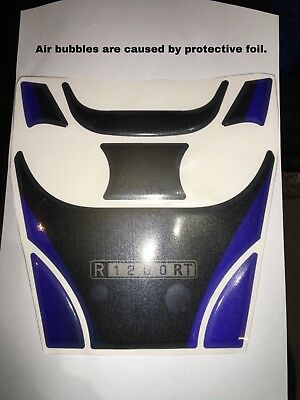 Motorcycle Tank Pad Protector Sticker   (BMW) R1200RT BLUE