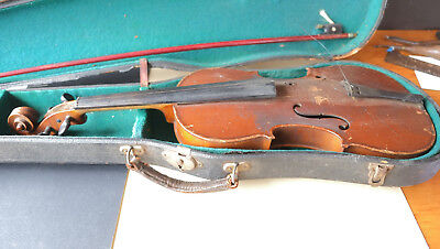 Imperial Trade Mark Made in Nippon Antique Violin for parts or restoration