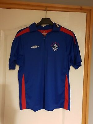 Glasgow Rangers Retro Umbro Carling Training Top Boys XLB