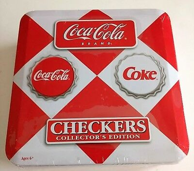 Coca-Cola Checkers game