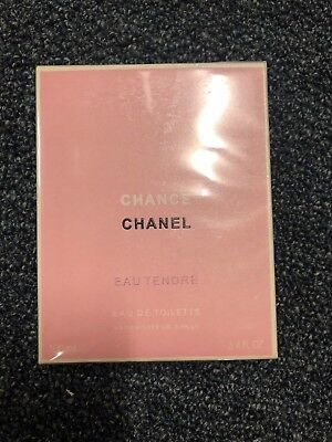 Chanel Chance Eau Tendre 3.4oz EDT  New and Sealed