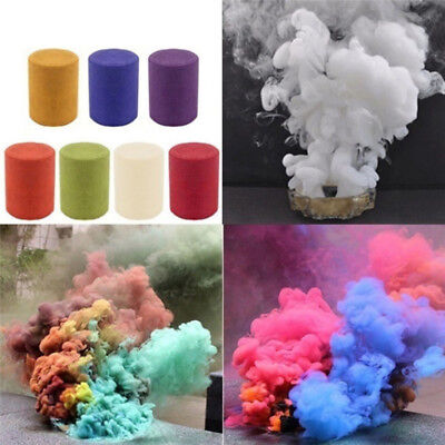 Smoke Cake Colorful Smoke Effect Show Round Bomb Stage Photography Aid Toy GifZN