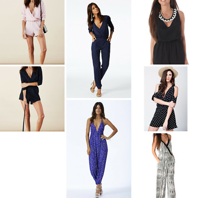 Women's Premium Rompers & Jumpsuits  - Wholesale Lot - 10 items - New With Tags